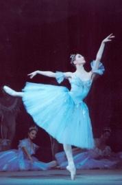 Zakharova no ballet The Pharaoh's Daughter