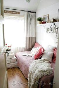 Com certeza uma das minhas fotos preferidas! O quarto é super pequeno e aconchegante...