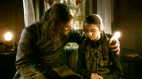 Lord Eddard Stark e Arya
