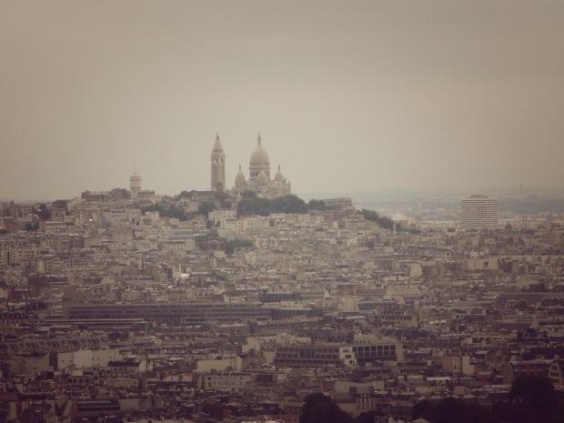 Sacre Coeur - vista do 2º andar da torre | Foto: Gabriela