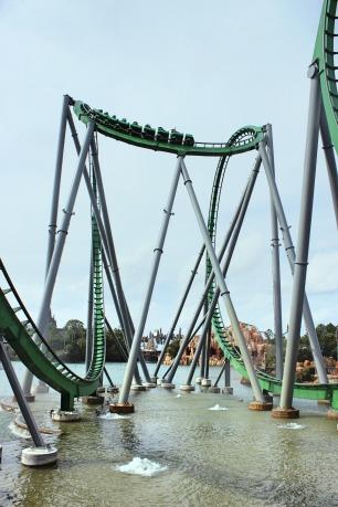 The Incredible Hulk Coaster