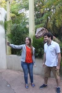 Antes do Velociraptor abrir a boca...
