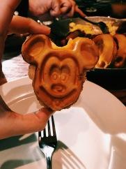 Mickey Waffle @ Ohana