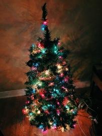 Nossa árvore de Natal