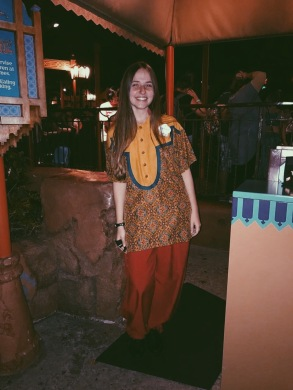 Greeter position @ The Magic Carpets of Aladdin