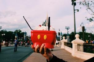 Mickey's Kitchen Sink Sundae @ Plaza Ice Cream Parlor, Magic Kingdom