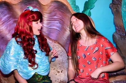 Ariel @ Ariel's Groto, Magic Kingdom