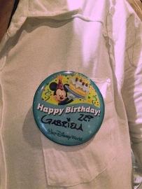 Birthday bottom!